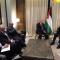 رئيس مجلس الأمة يتحادث مع رئيس الوزراء الفلسطيني