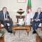رئيـس مجلــس الأمّـة يستقبـل السفير  الجديد لجمهوريـة مصر العربية بالجزائر