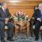 رئيس الدولة السيد عبد القادر بن صالح يستقبل رئيس مجلس الأمة بالنيابة السيد صالح قوجيل