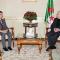 رئيس مجلس الأمة  السيد عبد القادر بن صالح يستقبل  سفير جمهورية سنغافورة بالجزائر