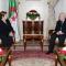 السيد عبد القادر بن صالح يستقبل السيدة انتصار الوزير، ام جهاد