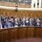 اعضاء مجلس الامة يناقشون قانون المالية 2018 و يصادقون عليه