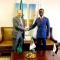 محادثات رئيس مجلس الأمة بالنيابة في المؤتمر السنوي العاشر لرؤساء البرلمانات الإفريقية 
