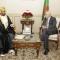 السيد عبد القادر بن صالح رئيس مجلس الأمة يستقبل سفير سلطنة عمان بالجزائر