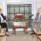 السيد عبد القادر بن صالح، رئيس مجلس الأمة، يستقبل رئيسة المجلس الوطني لحقوق الإنسان