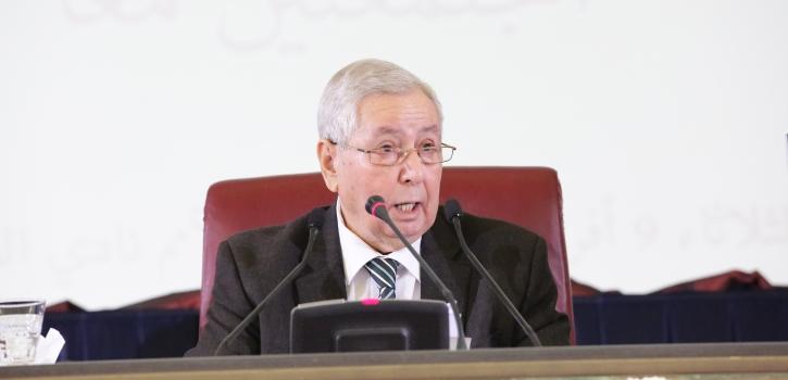 كلمة السيد عبد القادر بن صالح رئيس البرلمان في ختام أشغال دورة البرلمان المنعقد بغرفتيه المجتمعتين معًا