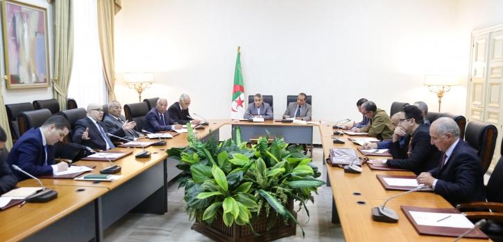 لجنة الشؤون القانونية تستمع للعضوين سعيد بركات و جمال ولد عباس