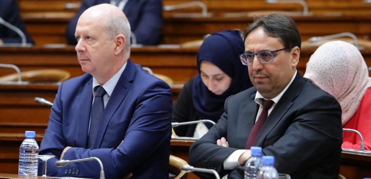 أعضاء مجلس الأمة يناقشون مشروع قانون المالية التكميلي لسنة 2018