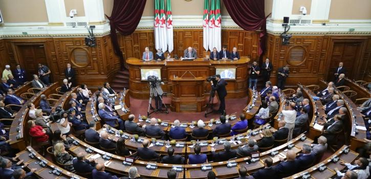 مجلس الأمة يختتم دورته البرلمانية العادية 2017-2018