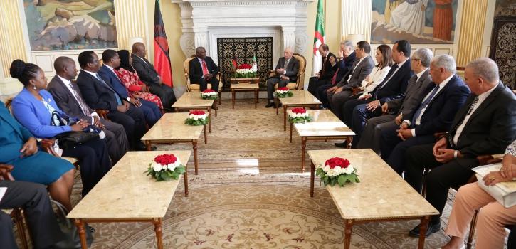 رئيـس  مجلـس الأُمّـة يستقبـل رئيس الجمعيّة الوطنيّة لجمهوريّة مالاوي