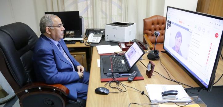 مجلس الأمة يشارك في اجتماع حول دعم وحماية حقوق ضحايا الإرهاب