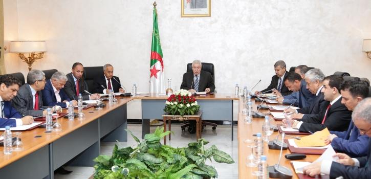 اجتماع هيئة التنسيق لمجلس الأمة