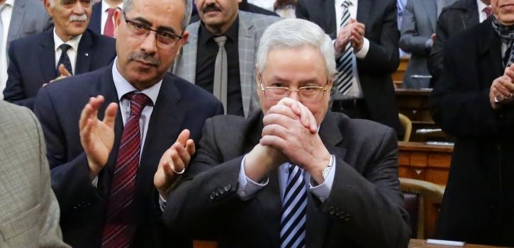 بالصور :إنتخاب السيد عبد القادر بن رئيسا لمجلس الأمة