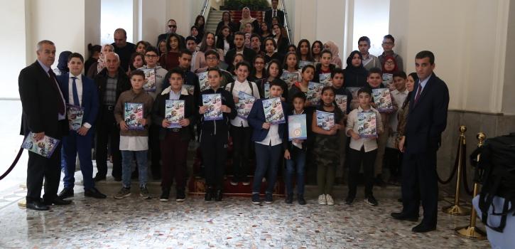 زيارة تلاميذ المجمع المدرسي