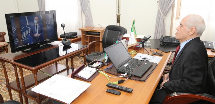 مجلس الأمة يشارك في أشغال المرحلة الثالثة للدورة 2021 للجمعية البرلمانية لمجلس أوروبا