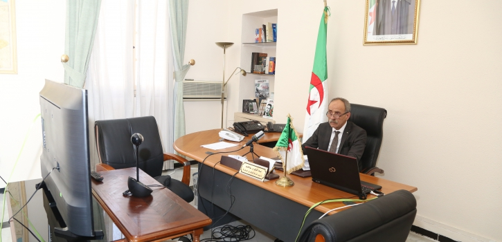 مجلس الأمة يشارك  في اجتماع المجموعة الخاصة بالمتوسط والشرق الأوسط