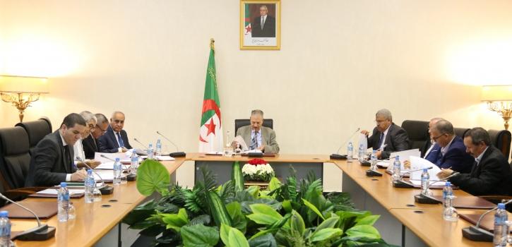 بيان صحفي عن اجتماع مكتب مجلس الأمة الموسع لرؤساء المجموعات البرلمانية