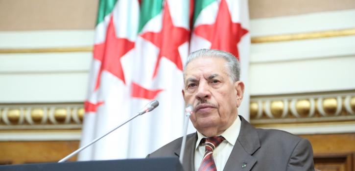 رئيس مجلس الأمة بالنيابة يعزي عائلة المرحوم المجاهد عبد السلام بوشارب