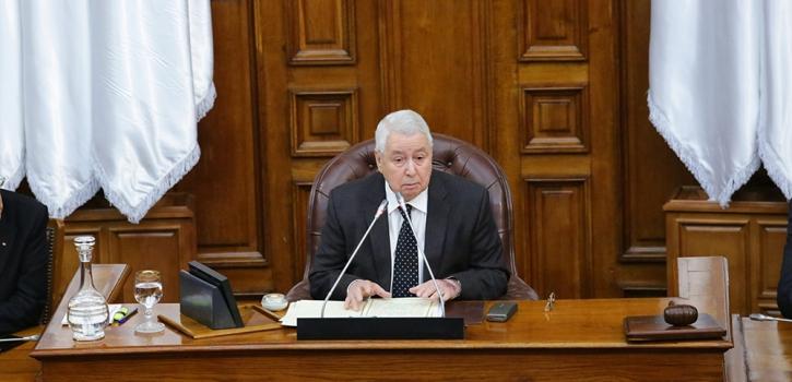 كلمة السيد رئيس مجلس الامة بمناسبة الذكرى العشرين لتاسيس المجلس والثانية للمصادقة على الدستور