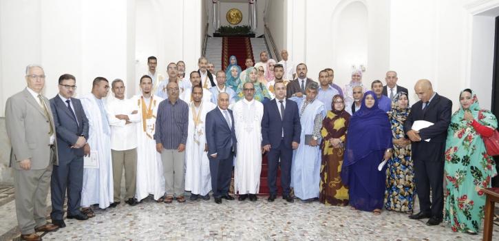 وفد عن المجلس الوطني للجمهورية العربية الصحراوية الديمقراطية في زيارة إلى مجلس الأُمَّـة