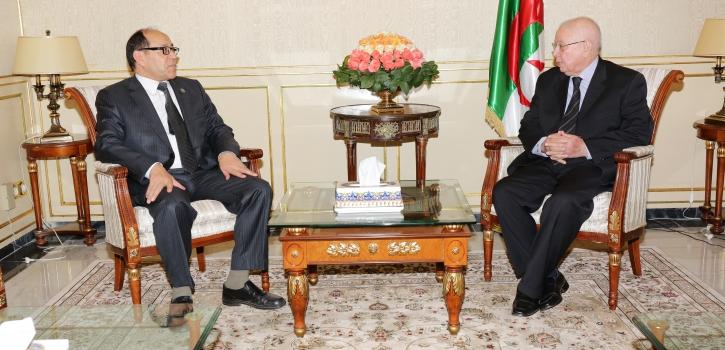 رئيس مجلس الأمة يستقبل سفير ليبيا بالجزائر