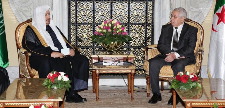 رئيس مجلس الأمة  يستقبل  رئيس مجلس الشورى السعودي