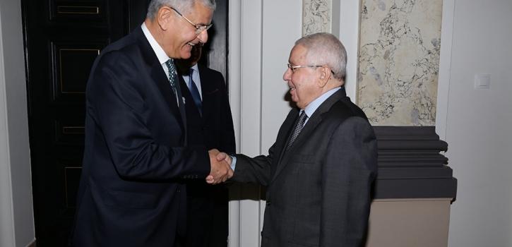 رئيس مجلس الامة يستقبل رئيس لجنة الشؤون الخارجية بالمجلس الوطني التركي الكبير