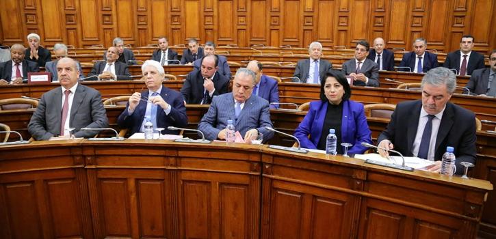خمسة وزراء يردون على اسئلة اعضاء مجلس الامة