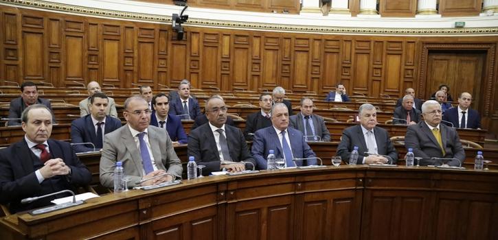 خمسة وزراء يردون على اسئلة افضاء مجلس الامة