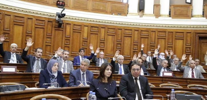 مجلس الأمة يصادق على  القانونين المتعلِّقين بالتجارة الإلكترونية والقواعد العامة المتعلِّقة بالبريد