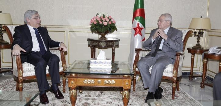 رئيس مجـلس الأمـة يستقـبل السيد Pasquale FERRARA ، سفير ايطاليا بالجزائر