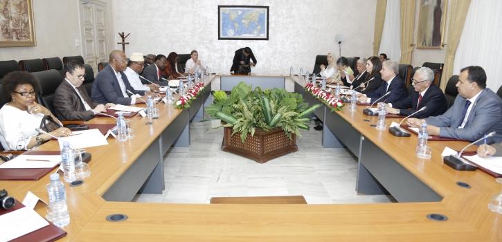 وفد عن تجمع المواطنين الأفارقة المقيمين بفرنسا يشيد بالدور الرائد الذي تلعبه الجزائر في إفريقيا
