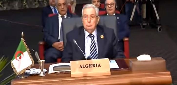 رئيس مجلس الأمة يشارك في جلسة إفتتاح أشغال القمة الأولى لدول الجامعة العربية و دول الإتحاد الأوروبي
