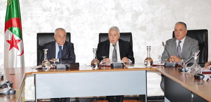 مشروع بيان حول اجتماع مكتبي غر فتي البرلمان بمقر مجلس الأمة