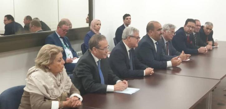 مشاركة أعضاء مجلس الأمة في أشغال الجمعية 141 للاتحاد البرلماني الدولي